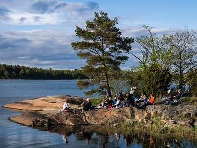 2019-05-25 Ängsö med tält