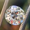 1.62ct Antique Cushion Cut Diamond GIA J VS1 7