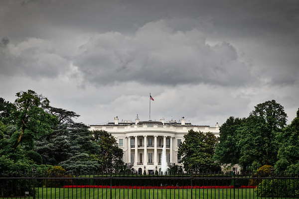 Stormy White House