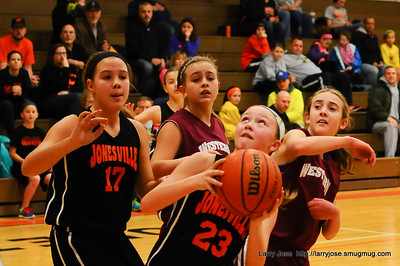 Jonesville Girls Middle School Basketball Tournament