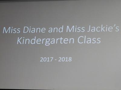 June 7, 2018  Kindergarten Moving Up