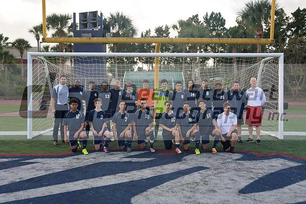 Boys JV Soccer 12.3.18