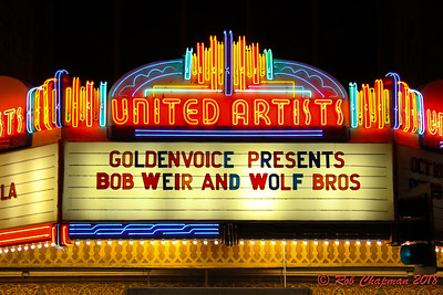 Bob Weir & Wolf Bros at The Ace Hotel in LA CA 10-18-2018
