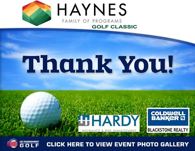 2018 Haynes Family of Programs Golf Classic
