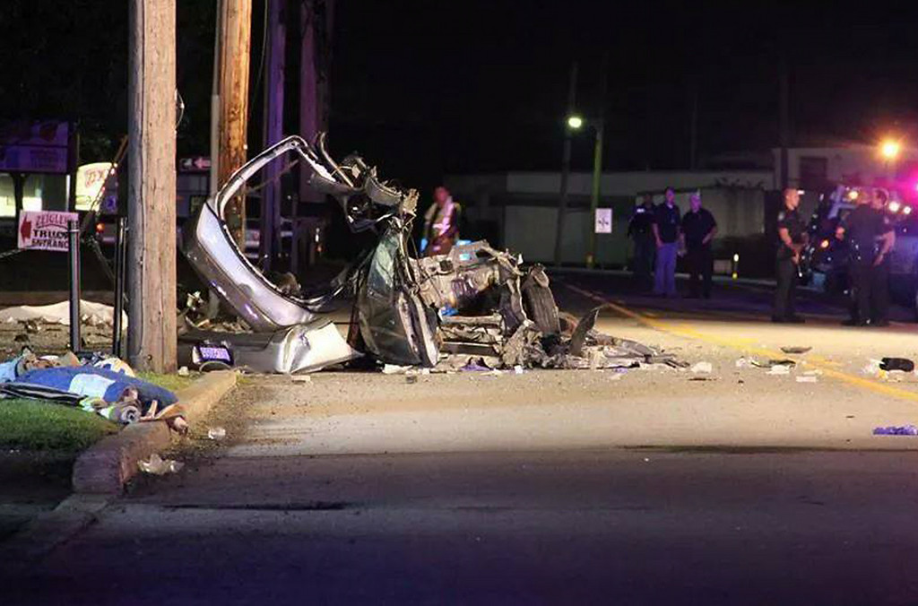 . Fatal crash, North Broad Street in Hatfield Township.   Monday, August 25, 2014.   Photo submitted by Dave McCreash