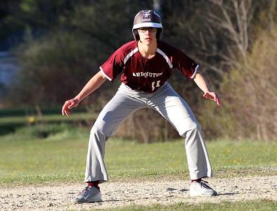 2016 AMHS Varsity Baseball vs L & G photos by Gary Baker