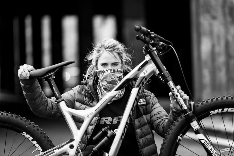 Myriam Nicole / Mountain Bike Champion / Lourdes, France, 2017