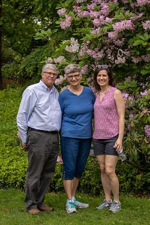 Larson Family Visit - May