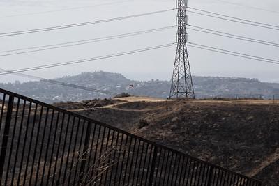 2017-10-11 - Santiago Oaks - Fire Damage