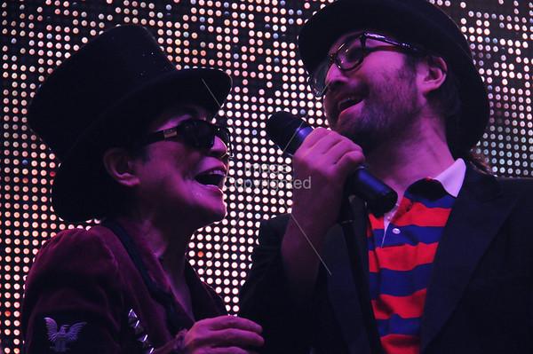 Sean & Yoko Lennon, Plastic Ono Band, New Years Freakout 5. Dec. 31,2011. Oklahoma City, Oklahoma