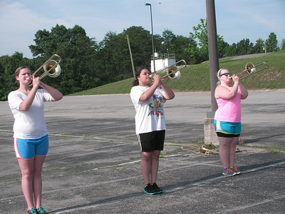 Freshman brass camp