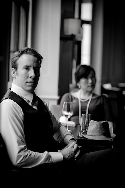 Alex Martin and Serene 2013 Shanghai