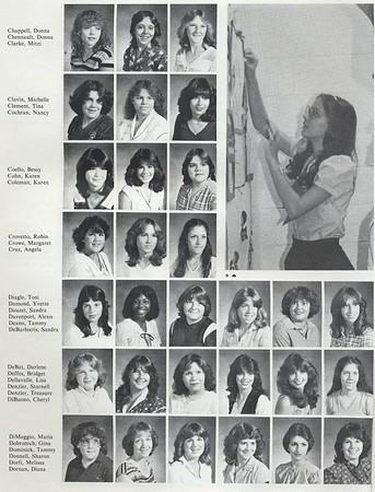 1982 Sophomore Class Photos
