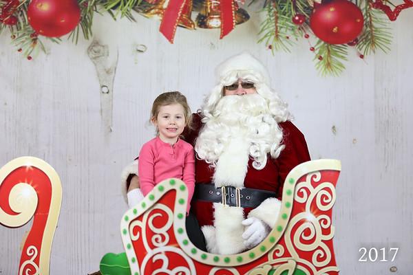 Fleetwood Photos With Santa 2017