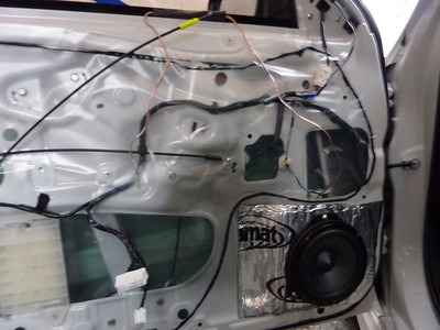 2010 Subaru Impreza Sedan Front Door Speaker Installation