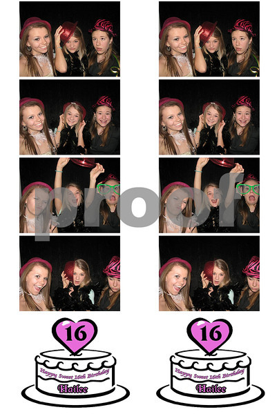 Hailee's Sweet 16th Birthday