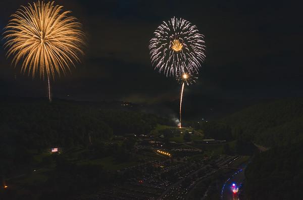 Tweetsie Fireworks 2019