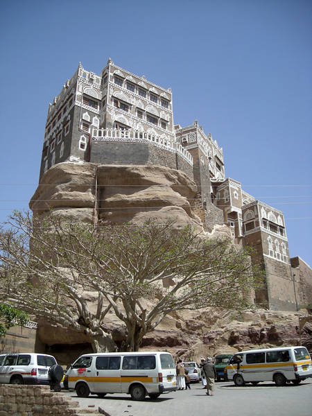 Dar Alhajr - an Imam's 1920's 'Rock Palace' in Wadi Dhahr, outside  Sana'a