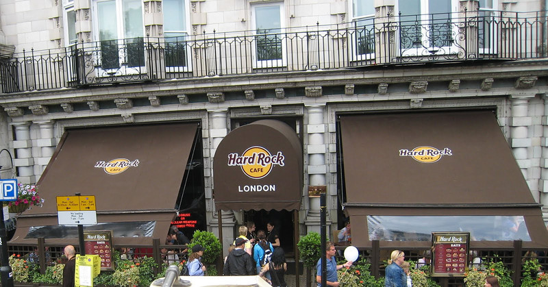 The original Hard Rock, London