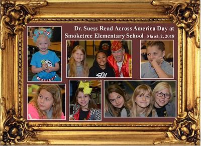 3-2-18 Read Across America at Smoketree Elem. Sch.
