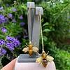 Vintage Bee Conversion Earrings 7