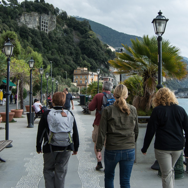 Monterosso was most northern of 5 villages on Italian Med coast