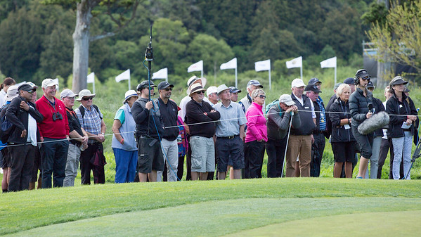Day 2 of the Asia-Pacific Amateur Championship tournament 2017 held at Royal Wellington Golf Club, in Heretaunga, Upper Hutt, New Zealand from 26 - 29 October 2017. Copyright John Mathews 2017.   www.megasportmedia.co.nz