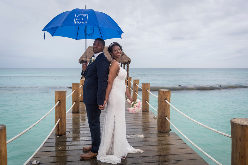 Markita + Jame - Wedding - Azul Fives Resort