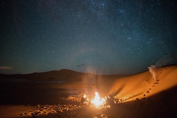 Saharan Music and Fire