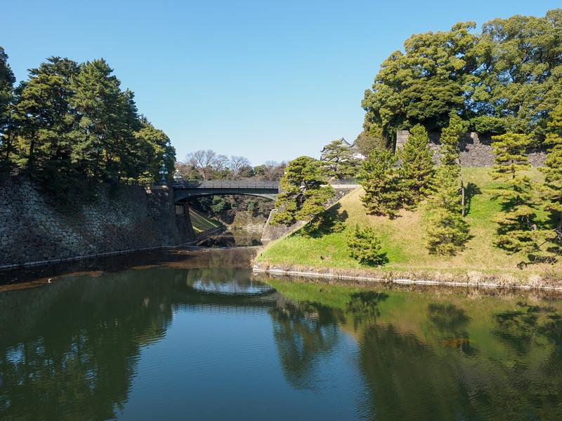Nijubashi bridge - 正門鉄橋