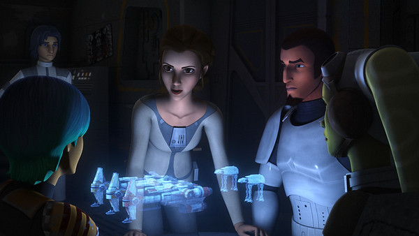 STAR WARS REBELS returns this week with Princess Leia