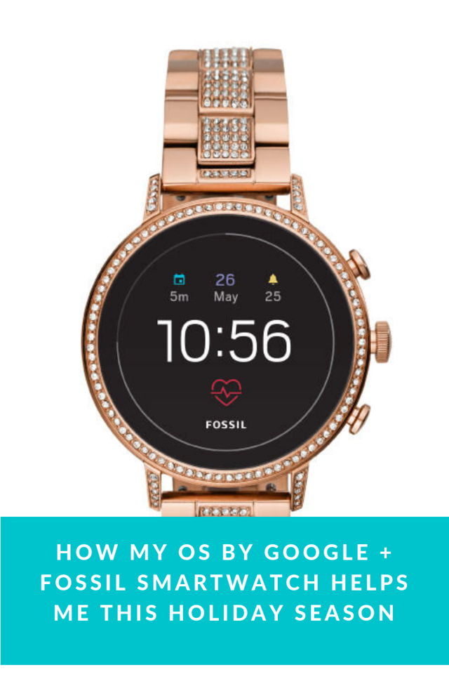 My OS by Google+ Fossil Smartwatch helps keep me ahead of the game this holiday season, and into a brand new year. Here's why it's so good: #Fossilstyle #ad