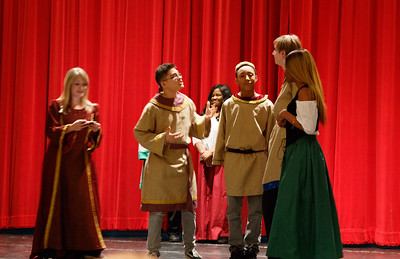 Daniel in Much Ado About Nothing 1st half with Acting 2 Class TJHS Jan 18 2018