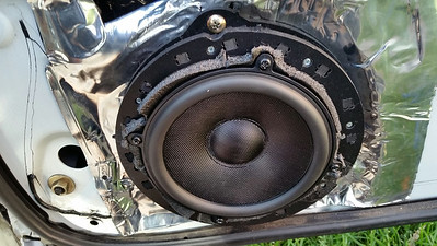 2002 Subaru Impreza Outback Sport Front Door Speaker Installation - USA