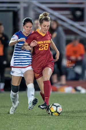 ISU Soccer vs KU 09/29/17