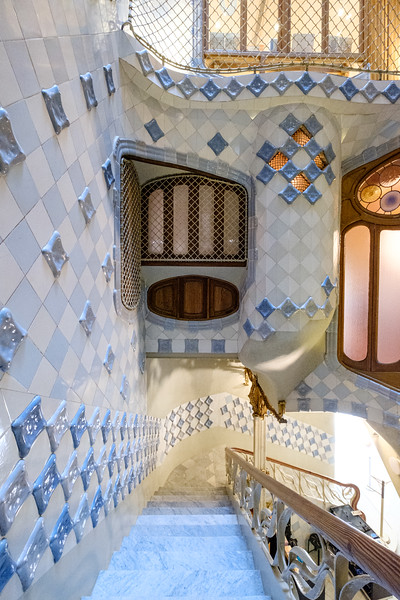 Interior view of Casa Batllo