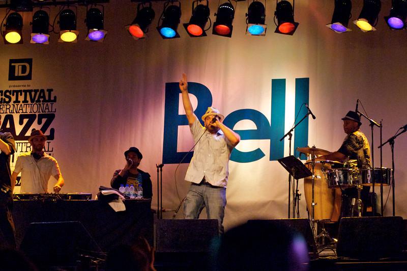 Boogat, Festival de Jazz de Montreal, 26 juin 2011