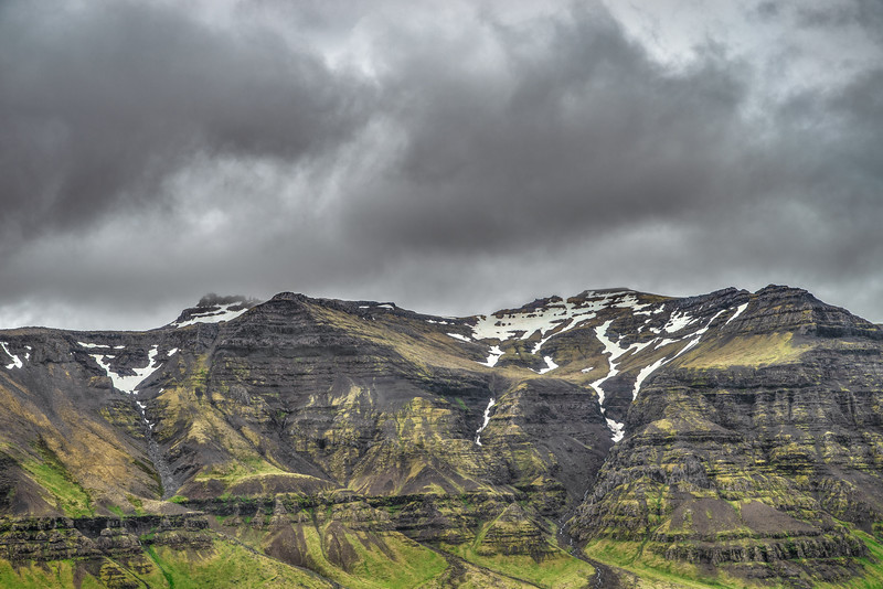 Mountains in Iceland  Photography by Wayne Heim