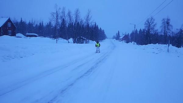 """7 Mi 8.3.17: Masungsbyn - rund um die """"lapland snow cabin""""  (+  Domorgen 9.3.)"""