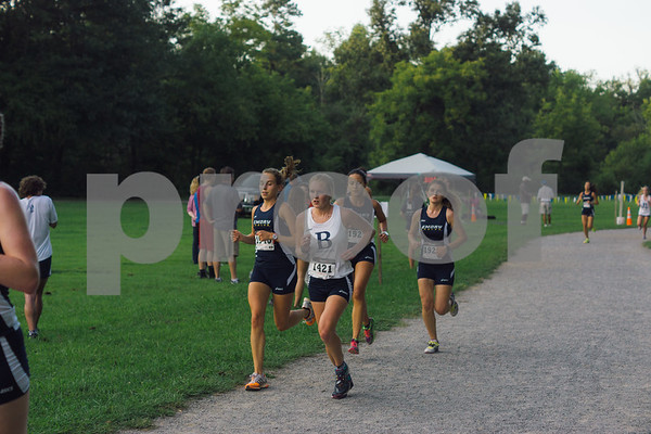 Women's Cross Country September 1, 2015 EM
