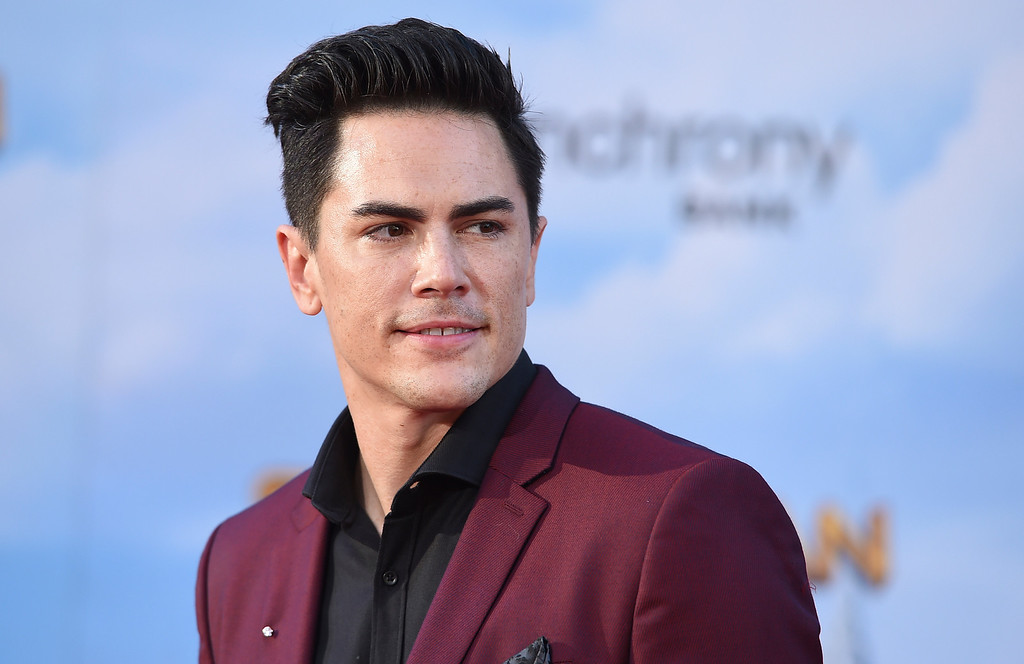""". Tom Sandoval arrives at the Los Angeles premiere of \""""Spider-Man: Homecoming\"""" at the TCL Chinese Theatre on Wednesday, June 28, 2017. (Photo by Jordan Strauss/Invision/AP)"""