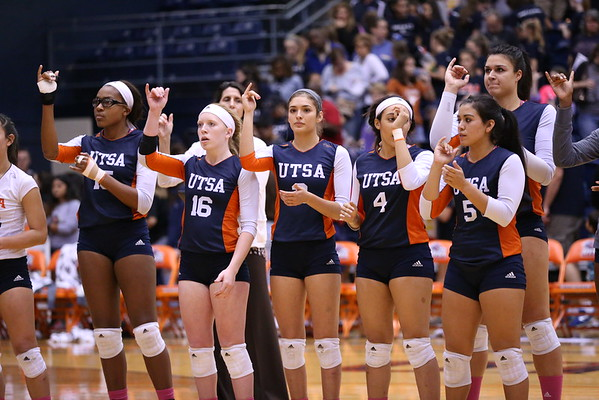 UTSA Volleyball vs Western Kentucky 2016