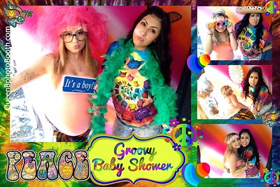 Groovy Baby Shower