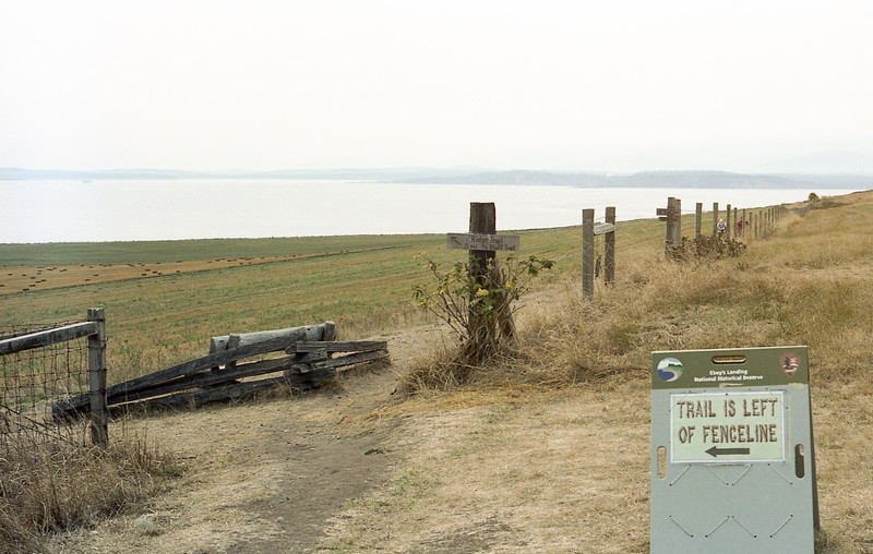 The Bluff Trail at Ebey's Landing on Whidbey Island, WA
