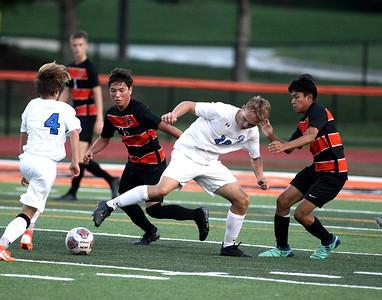 St. Charles East vs Burlington Soccer