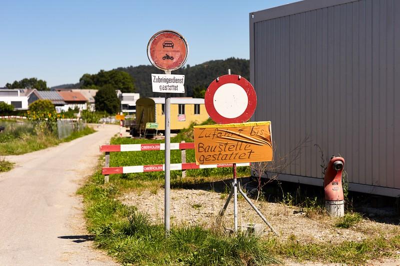 Die Baustelle Bütschwil gehört aktuell zu den grössten Baustellen im Kanton St. Gallen.