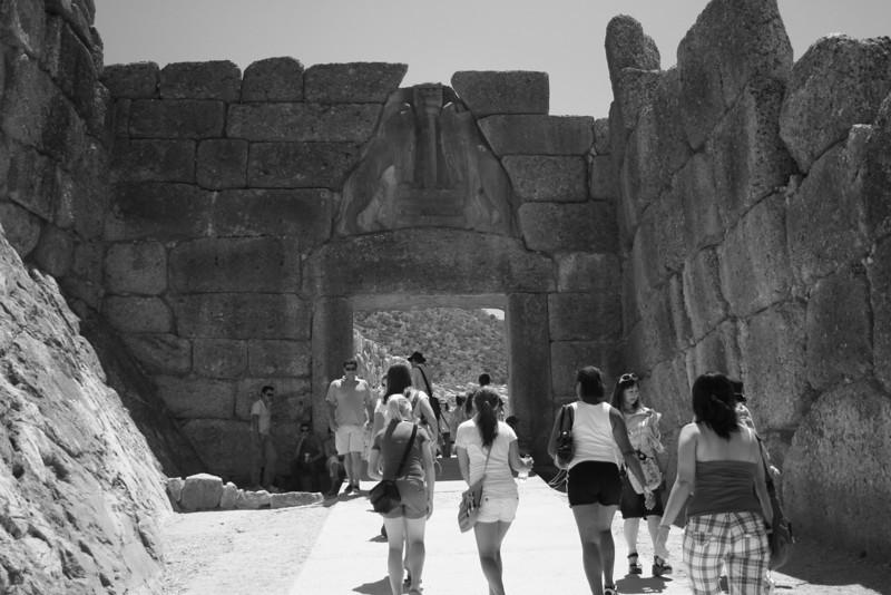 Mycenae, Greece; The Lion Gate