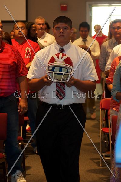 Varsity Family Mass 2012