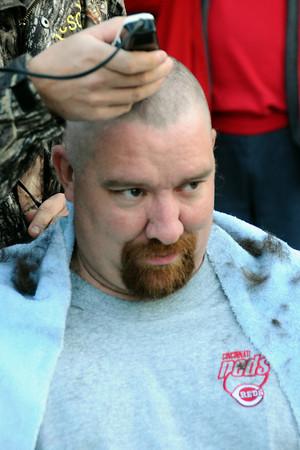 Gettin' Bald for George - November 10, 2013