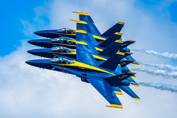 NAVY's Blue Angels Over Baltimore and Annapolis